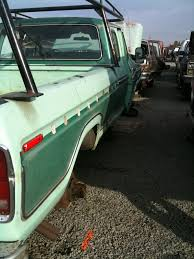 Vintage Ford Truck Junk Yards - 77 f350 super cab in junk yard ford truck enthusiasts forums