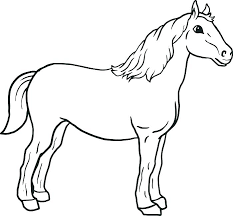 coloring sheets of a horse printable coloring pages horses free printable coloring pages of