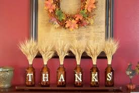 Letter Decoration Ideas by Decorations Thanks Letter Thanksgiving Bottle Table Decoration