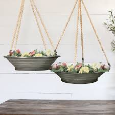 hanging planters hanging planters hanging metal planters farmhouse planters
