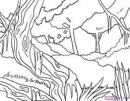 the awesome in addition to gorgeous jungle scene coloring pages