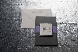 Indian Wedding Invitations Chicago Silver And Purple Wedding Invitations Mirror Paper Custom