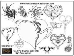 handcuff tattoos designs 715 photoshop free brushes download