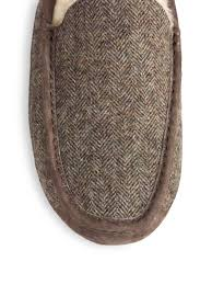 ugg sale manhattan lyst ugg ascot tweed slippers in for