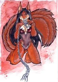 furry halloween red squirrel by shiverz on deviantart