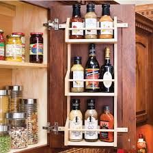 Wall Cabinet Spice Rack Spice Rack Pantry Tray With Fixed Shelves Made Of Hard Maple