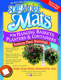 Plants And Planters by Amazon Com Soil Moist Mats For Hanging Baskets Planters And