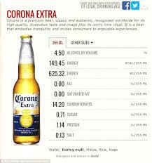 how much alcohol is in corona light carbs in corona light beer www lightneasy net