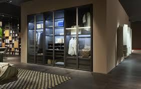 Schlafzimmerschrank Einbau Kleiderschränke Glastüren Kleiderschränke Und Beleuchtung