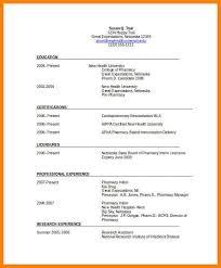 Pharmacist Resume Cover Letter 3 Retail Pharmacist Resume Hr Cover Letter