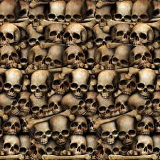halloween scene setters room rolls amazon com beistle catacombs backdrop 4 feet by 30 feet toys