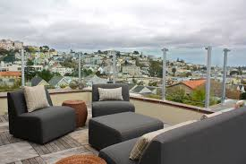 rooftop patios rooftop patio contemporary deck san francisco by shannon malone