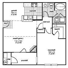 home design 89 astonishing one bedroom floor planss