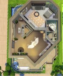 Modern Luxury Floor Plans by Mod The Sims Modern Luxury 1 Bedroom 1 Bathroom