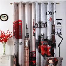 aliexpress com buy 3d curtains london blackout curtains for