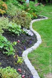 Simple Cheap Garden Ideas Garden Edging Ideas Cheap Landscaping Garden Border Edging Ideas