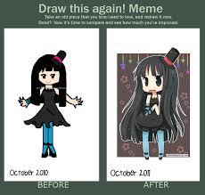 Draw This Again Meme Blank - draw this again meme by hanahello on deviantart