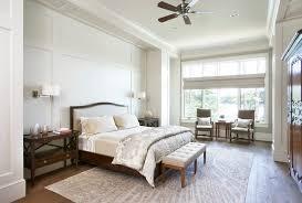 Wall Wainscoting Full Wall Wainscoting Bedroom Traditional With Wood Floor Down