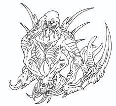 killer croc coloring pages my fan art chibi monsters u0026 more general turtle rock forums