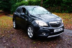 opel mokka interior used vauxhall mokka black for sale motors co uk