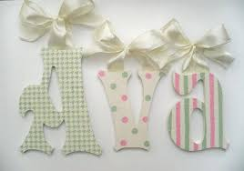 Letter Decorations For Nursery Letters Wall Decor Nursery Everythingelizabeth Me