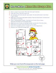 How To Make A House Cozy 9 How To Make A Fire Escape Plan Nfpa A Home Stylish Idea Nice