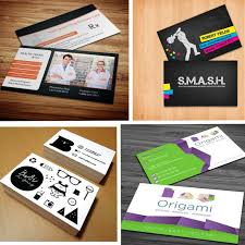 sided business cards creative ideas for your business
