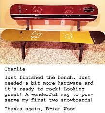 Snowboard Bench Legs 42 Best Charlie U0027s Snowboard Furnituretalk Images On Pinterest