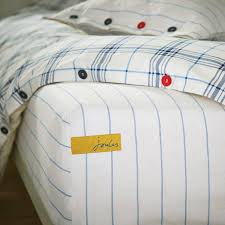 blue white check brighton cotton pillowcase brandalley