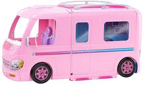 barbie toy cars new barbie camper playset van fashion doll play vehicles
