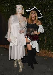 hayley hasselhoff at just jareds annual halloween party in los