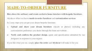 afydecor u2013 online furniture store