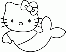 printable cute fish coloring pages simple book flower