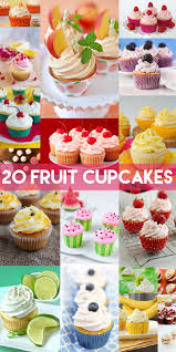 20 cupcake recipes for fruit lovers