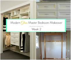 modern glam master bedroom makeover u2013 orc week 2 beauteeful living