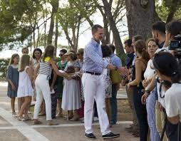 in pics spanish royal family on holiday in mallorca the local