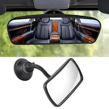baby car mirror with light baby safe mirror car rearview mirrors adjustable rear view mirror
