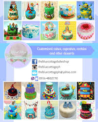 wedding cake quezon city the blue cottage customized cakes cupcakes cookies and other