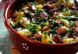 poulpe cuisine tasca da elvira poulpe et pommes de terre au four