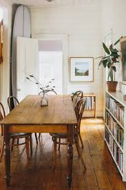 Old Wooden Table And Chairs A Cozy Century Old Coastal Cottage Cottage Dining Rooms