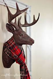 Christmas Decorations For Deer Mounts by Mad For Plaid Omg Lifestyle Blog