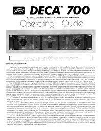 pdf manual for peavey amp deca 700