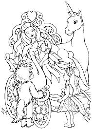 Coloriage licorne princesse sur Hugolescargotcom