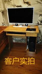 Small Wood Desk by Simple Small Wood Desktop Computer Desk Home For Children To Learn