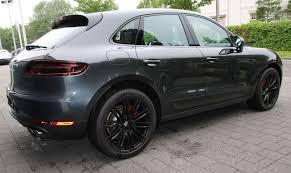 Porsche Macan Grey - porsche macan turbo gts look