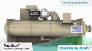 daikin mcquay magnitude magnetic bearing chiller youtube
