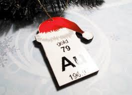 periodic table ornament tree elements chemical