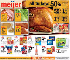 meijer weekly ad thanksgiving nov 20 26 2016