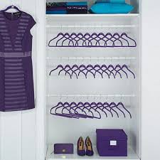 Closet Set by Amazon Com Joy Mangano 100 Piece Huggable Hangers Set Purple