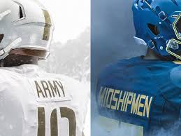 Why Is The American Flag Backwards On Uniforms Photos Of The Uniforms That Will Be Worn During 2017 Army Navy